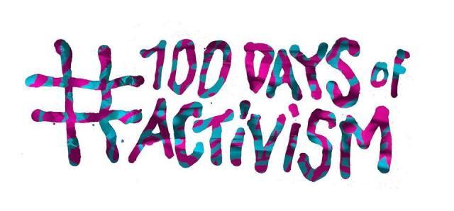 #100daysofactivism