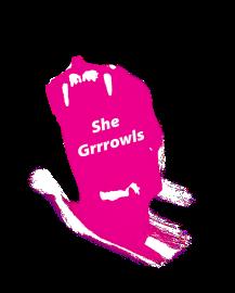 She Grrrowls Logo 2017